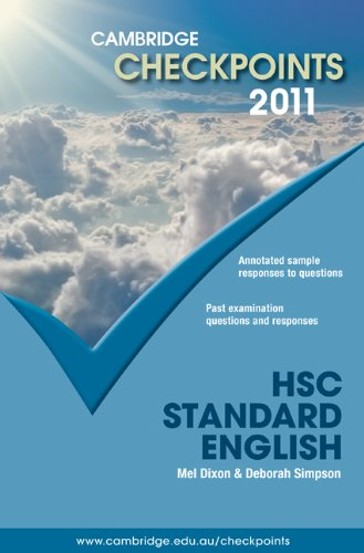 Cambridge Checkpoints HSC Standard English 2011: Melpomene Dixon