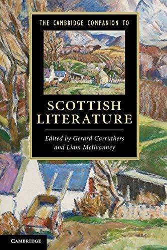 9780521189361: The Cambridge Companion to Scottish Literature Paperback (Cambridge Companions to Literature)
