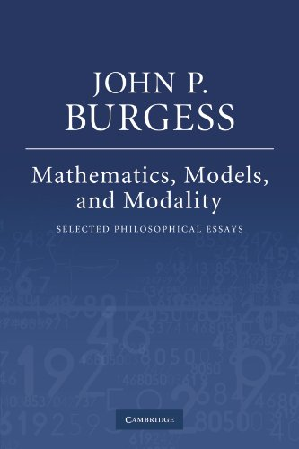 9780521189675: Mathematics, Models, and Modality: Selected Philosophical Essays