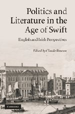 9780521190152: Politics and Literature in the Age of Swift: English and Irish Perspectives