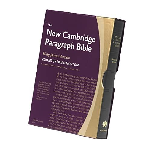 9780521190633: New Cambridge Paragraph Bible KJ595:T Black Calfskin: Personal size