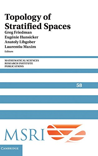 9780521191678: Topology of Stratified Spaces (Mathematical Sciences Research Institute Publications)