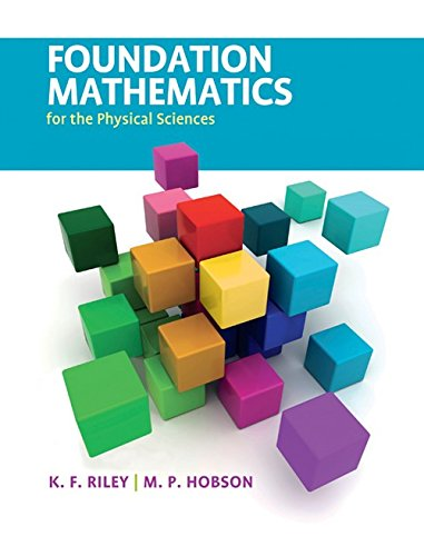 9780521192736: Foundation Mathematics for the Physical Sciences