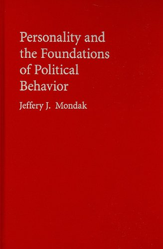 9780521192934: Personality and the Foundations of Political Behavior (Cambridge Studies in Public Opinion and Political Psychology)