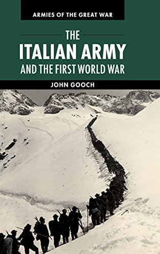 9780521193078: The Italian Army and the First World War (Armies of the Great War)