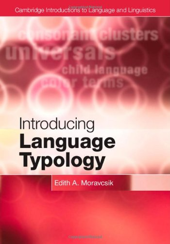 9780521193405: Introducing Language Typology (Cambridge Introductions to Language and Linguistics)