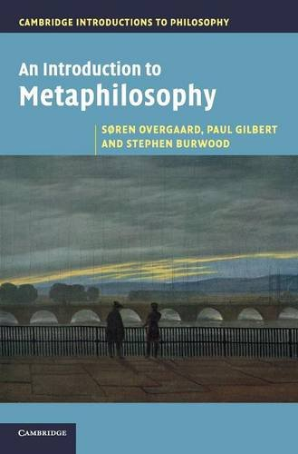 9780521193412: An Introduction to Metaphilosophy