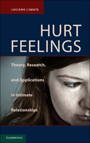 9780521193641: Hurt Feelings: Theory, Research, and Applications in Intimate Relationships