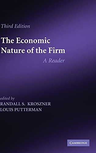 9780521193948: The Economic Nature of the Firm 3rd Edition Hardback