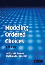 9780521194204: Modeling Ordered Choices Hardback