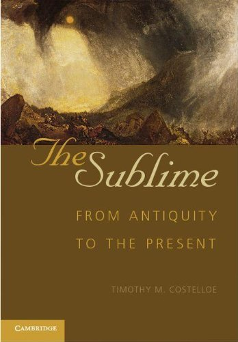 9780521194372: The Sublime: From Antiquity to the Present