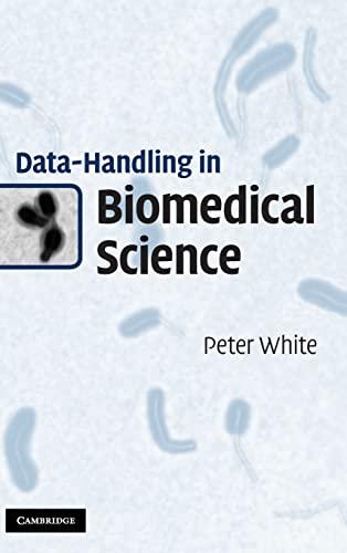 9780521194556: Data-Handling in Biomedical Science