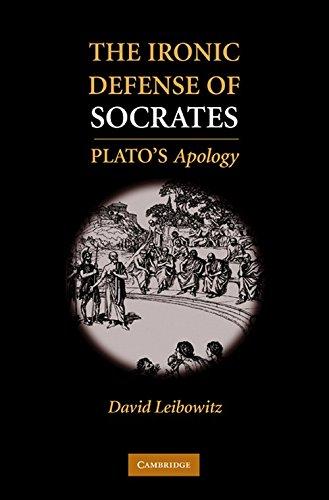 9780521194792: The Ironic Defense of Socrates Hardback