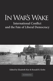 9780521194815: In War's Wake: International Conflict and the Fate of Liberal Democracy