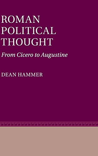 9780521195249: Roman Political Thought: From Cicero to Augustine