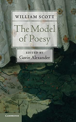 9780521196116: The Model of Poesy