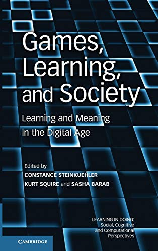 9780521196239: Games, Learning, and Society: Learning and Meaning in the Digital Age