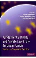 Fundamental Rights And Private Law In The European Union 2 Volume Set