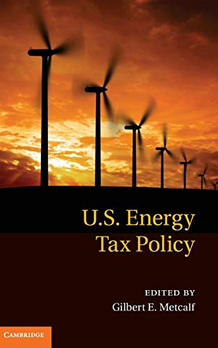 9780521196680: US Energy Tax Policy