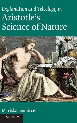 9780521197748: Explanation and Teleology in Aristotle's Science of Nature