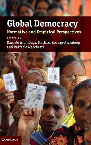 9780521197847: Global Democracy Hardback