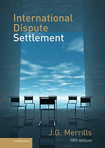 9780521199094: International Dispute Settlement
