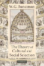 9780521199513: The Theory of Cultural and Social Selection
