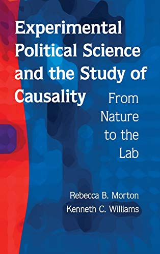 9780521199667: Experimental Political Science and the Study of Causality Hardback