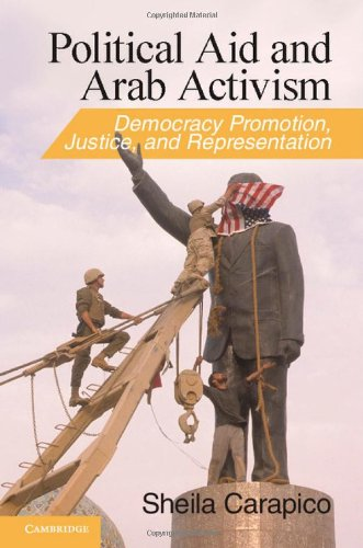 9780521199919: Political Aid and Arab Activism: Democracy Promotion, Justice, and Representation (Cambridge Middle East Studies)