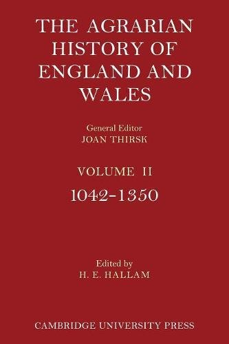 9780521200110: The Agrarian History of England and Wales: Volume 2, 1042-1350