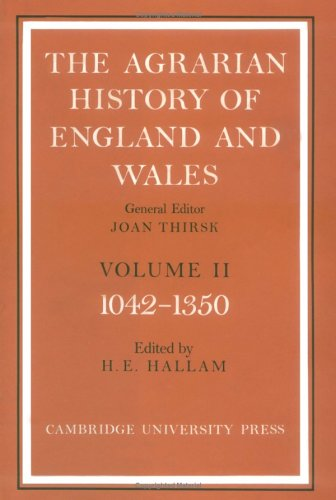 9780521200738: The Agrarian History of England and Wales: Volume 2, 1042-1350: 002