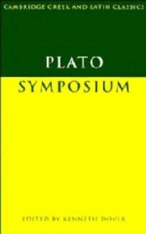 9780521200813: Plato: Symposium (Cambridge Greek and Latin Classics)