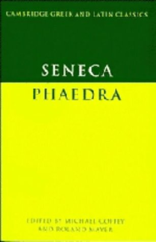 9780521200851: Seneca: Phaedra (Cambridge Greek and Latin Classics)