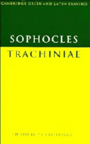 9780521200875: Sophocles: Trachiniae (Cambridge Greek and Latin Classics) (Greek Edition)