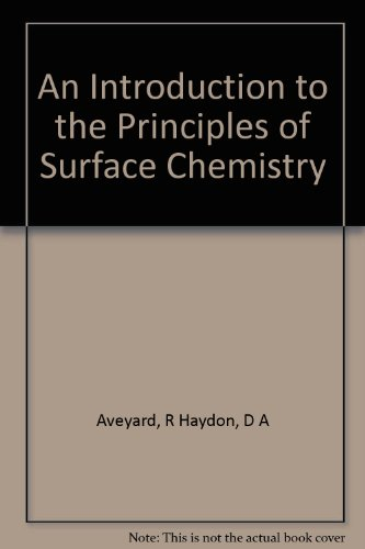 9780521201100: An Introduction to the Principles of Surface Chemistry