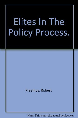 9780521203449: Elites in the Policy Process