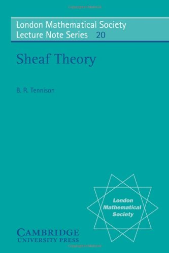 9780521207843: Sheaf Theory Paperback (London Mathematical Society Lecture Note Series)