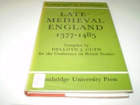 Late-medieval England 1377 - 1485