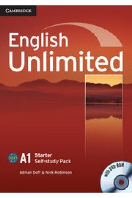 9780521209465: English Unlimited Starter Self-study Pack (Workbook with DVD-ROM)