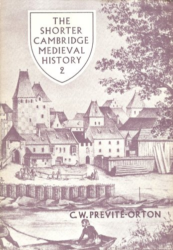 9780521209632: The Shorter Cambridge Medieval History, Vol. 2: The 12th Century to the Renaissance