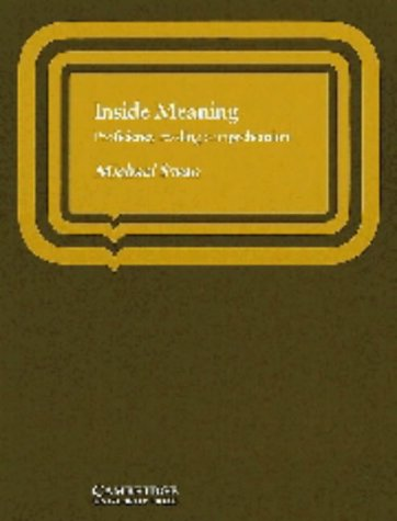 9780521209724: Inside Meaning Student's book: Proficiency Reading Comprehension