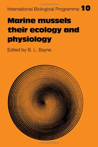 9780521210584: Marine Mussels: Their Ecology and Physiology (International Biological Programme Synthesis Series)