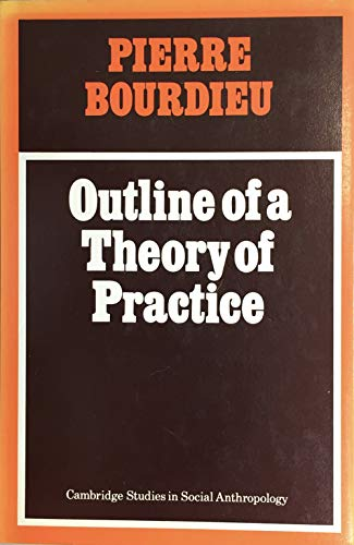 9780521211789: Outline of a Theory of Practice (Cambridge Studies in Social and Cultural Anthropology)