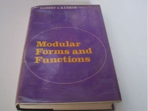 9780521212120: Modular Forms and Functions