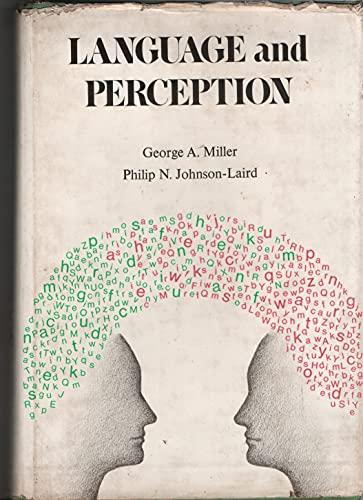 9780521212427: Language and Perception