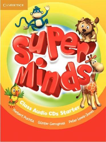 9780521214346: Super Minds Starter Class Audio CDs (2)