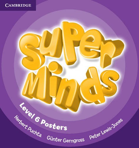 9780521214728: Super Minds Level 6 Posters (10)