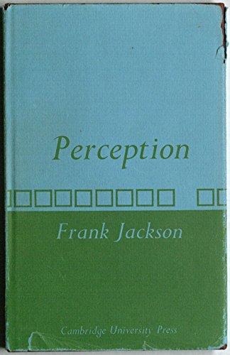 9780521215503: Perception: A representative theory