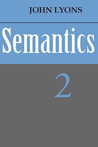 9780521215602: Semantics: Volume 2 (v. 2)