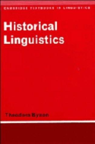 9780521215824: Historical Linguistics (Cambridge Textbooks in Linguistics)